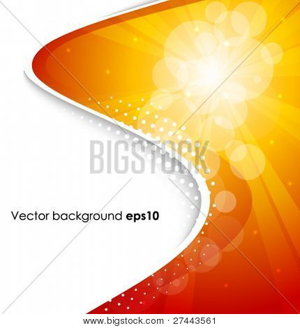 Appealing vector spotlight images