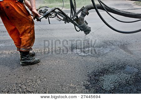Repairing roads