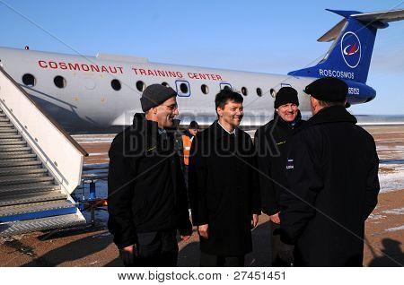 Report Upon Arrival In Baikonur