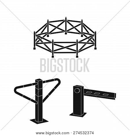 Vector Design Gate Vector & Photo (Free Trial)   Bigstock