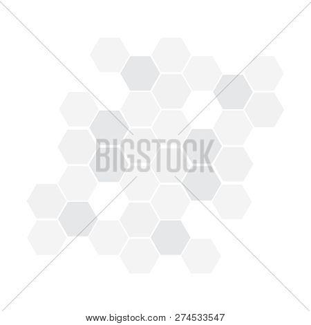 Hexagonal Vector Background. Geometric Hexagonal Abstract Pattern
