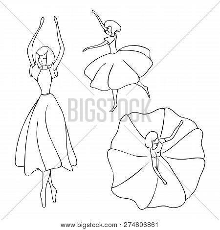 24037d5aadcf Set Silhouettes Vector   Photo (Free Trial)