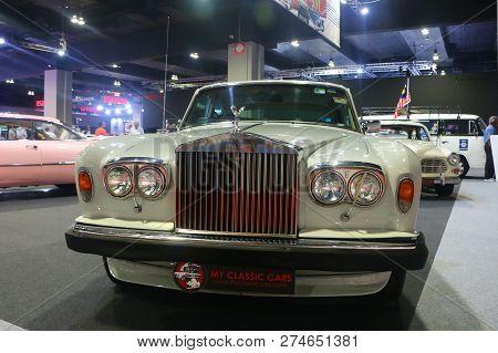 Kuala Lumpur, Malaysia - December 1, 2018 : Rolls-royce Shadow Ii, Was Produced By British Automaker