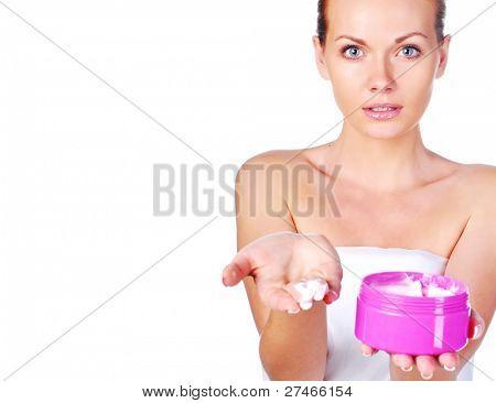 girl skin care