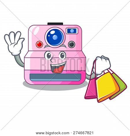 Shopping Instant Camera With Revoke Cartoon Picture