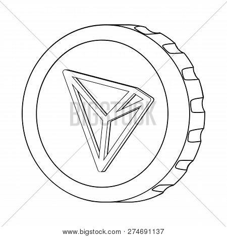 Vector Design Of Cryptocurrency And Coin Icon. Set Of Cryptocurrency And Crypto Vector Icon For Stoc