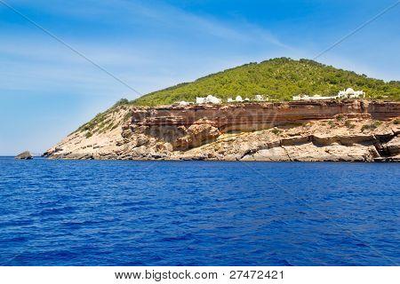 Ibiza Sa Talaia coast in Balearic islands Cala d Hort
