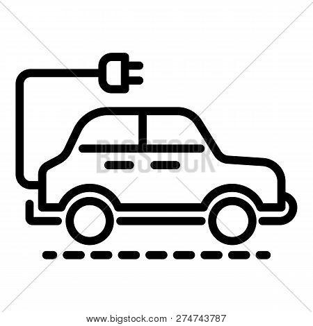 Electric Car Icon Vector Photo Free Trial Bigstock