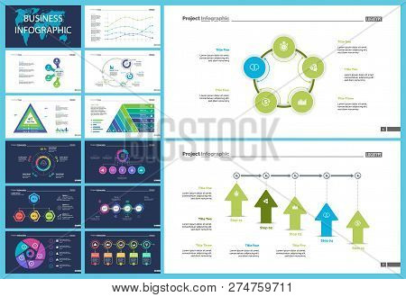 Business Infographic Design Set Can Be Used For Workflow Layout, Presentation, Annual Report, Web De