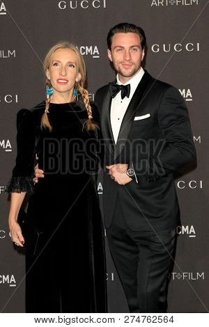 LOS ANGELES - NOV 3:  Sam Taylor-Johnson, Aaron Taylo at the 2018 LACMA: Art and Film Gala at the Los Angeles County Musem of Art on November 3, 2018 in Los Angeles, CA