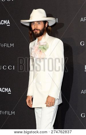 LOS ANGELES - NOV 3:  Jared Let at the 2018 LACMA: Art and Film Gala at the Los Angeles County Musem of Art on November 3, 2018 in Los Angeles, CA