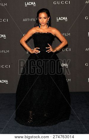 LOS ANGELES - NOV 3:  Karrueche Tran at the 2018 LACMA: Art and Film Gala at the Los Angeles County Musem of Art on November 3, 2018 in Los Angeles, CA