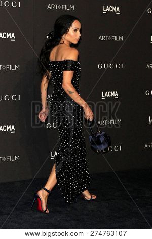 LOS ANGELES - NOV 3:  Zoe Kravitz at the 2018 LACMA: Art and Film Gala at the Los Angeles County Musem of Art on November 3, 2018 in Los Angeles, CA