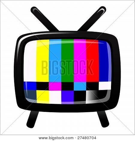 TV - sinal Ntsc, vetor
