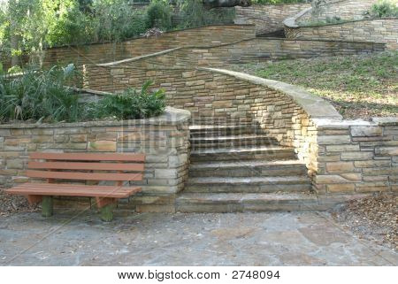 Stairs Bench