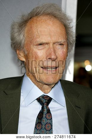 Clint Eastwood at the World premiere of 'The Mule' held at the Regency Village Theatre in Westwood, USA on December 10, 2018.