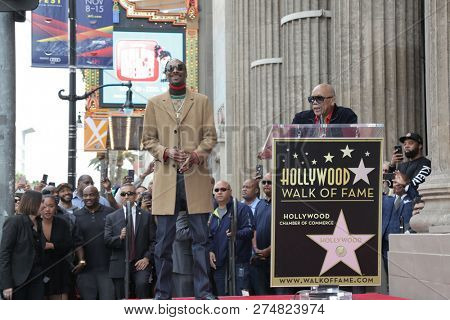 LOS ANGELES - NOV 19:  Snoop Dogg, Quincy Jones at the Snoop Dogg Star Ceremony on the Hollywood Walk of Fame on November 19, 2018 in Los Angeles, CA