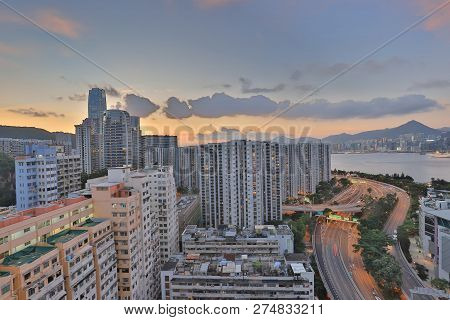 A Residential Building Area At Sai Wan Ho