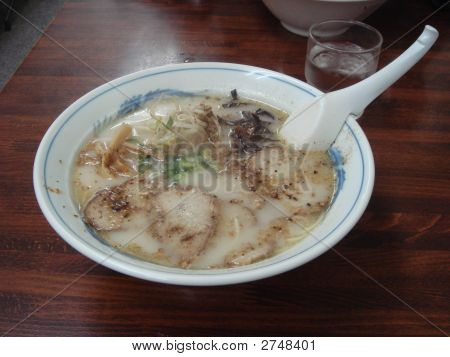 Japanese Kumamoto Ramen Noodle