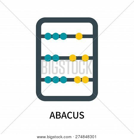 Abacus Icon Isolated On White Background. Abacus Icon Simple Sign. Abacus Icon Trendy And Modern Sym