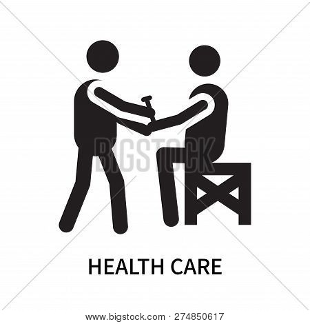 Health Care Icon Isolated On White Background. Health Care Icon Simple Sign. Health Care Icon Trendy