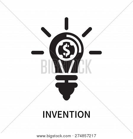 Invention Icon Isolated On White Background. Invention Icon Simple Sign. Invention Icon Trendy And M