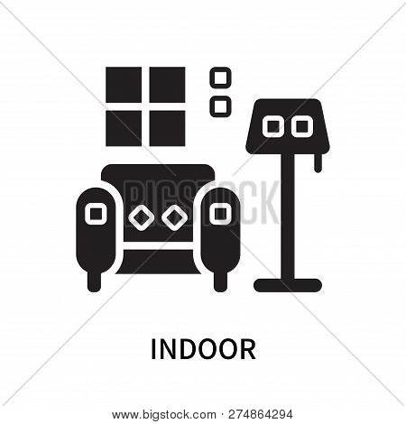 Indoor Icon Isolated On White Background. Indoor Icon Simple Sign. Indoor Icon Trendy And Modern Sym