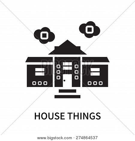 House Things Icon Isolated On White Background. House Things Icon Simple Sign. House Things Icon Tre