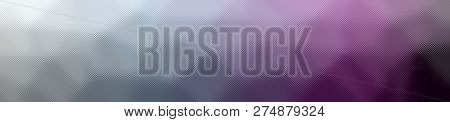 Illustration Of Abstract Purple And Gray Through The Tiny Glass Banner Background