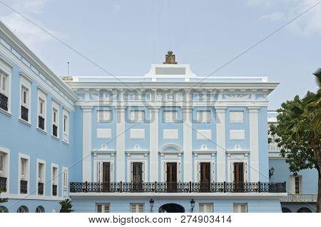 Executive Mansion In Old San Juan Puerto Rico