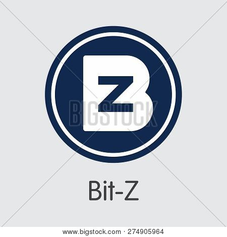 - Bit-z. The Crypto Coins Or Cryptocurrency Logo.