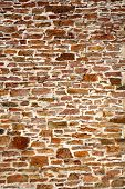 Old colorful stone wall close up background. poster
