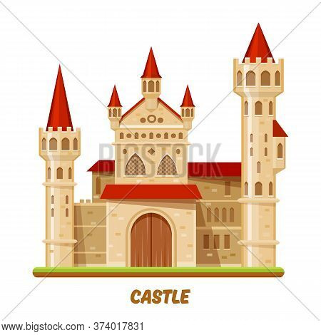 Medieval Castle Or Fairy Palace, Fantasy Kingdom