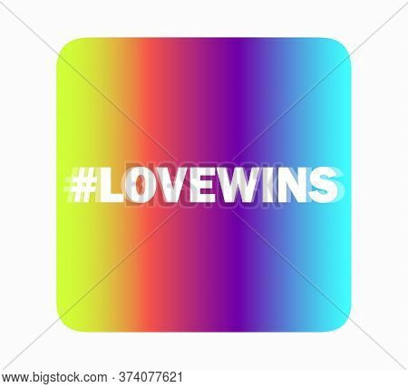 Rainbow Ribbons. Isolated On White With Transparent Shadow. Lgbt Flag. Lgbt Rights, World Pride Same