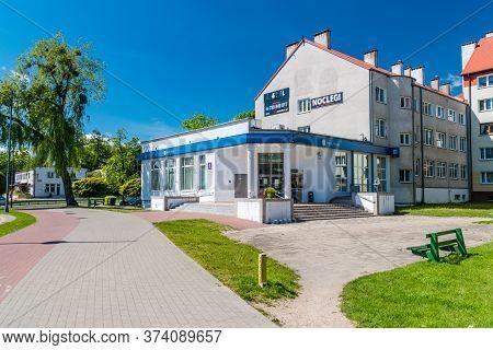 Pisz, Poland - June 1, 2020: Pko Bank Polski Branch In Pisz.