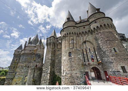 Vitre, Brittany, Castle