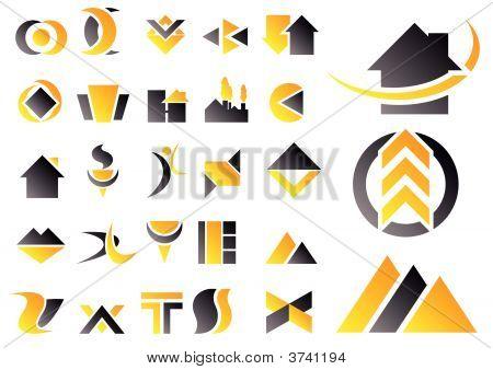 Vector Set Of Design Symbols