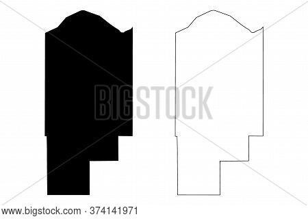 Jasper County, Indiana (u.s. County, United States Of America, Usa, U.s., Us) Map Vector Illustratio