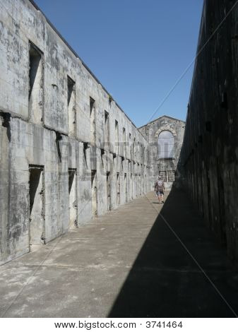 Inside Trial Bay Gaol