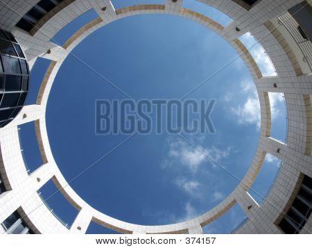 Modern,round Architecture