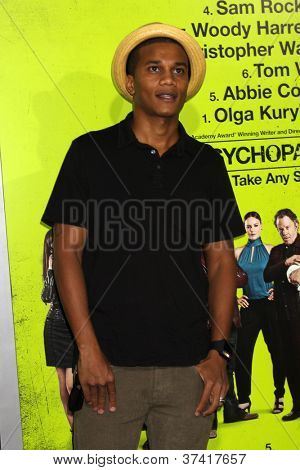 """LOS ANGELES - OCT 30:  Cory Hardrict  at the """"Seven Psychopaths"""" Premiere at Bruin Theater on October 30, 2012 in Westwood, CA"""