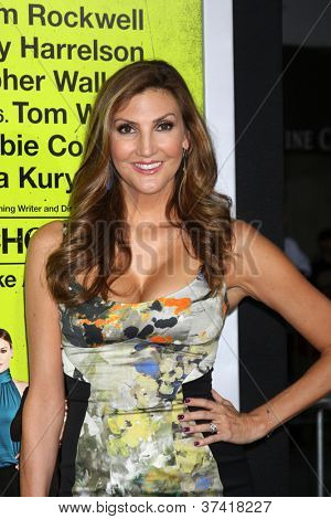 """LOS ANGELES - OCT 30:  Heather McDonald  at the """"Seven Psychopaths"""" Premiere at Bruin Theater on October 30, 2012 in Westwood, CA"""