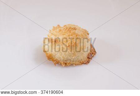 Coconut Sultanas, Delicious Traditional Pastries From Hornachos, Extremadura, Spain. Closeup