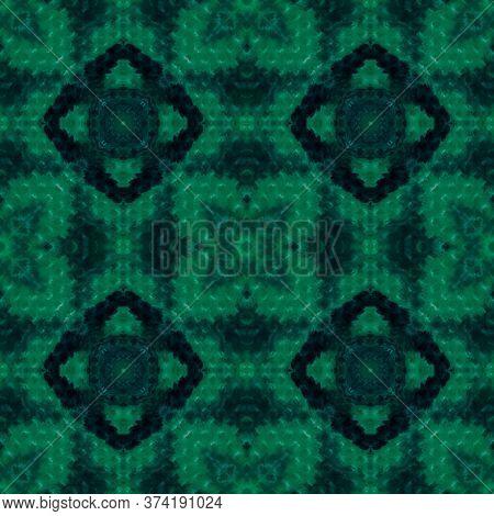 Original Tile Template.  Folk Embroidery. Winter Geo Pattern. Solid Seamless Decorative Art Image. O