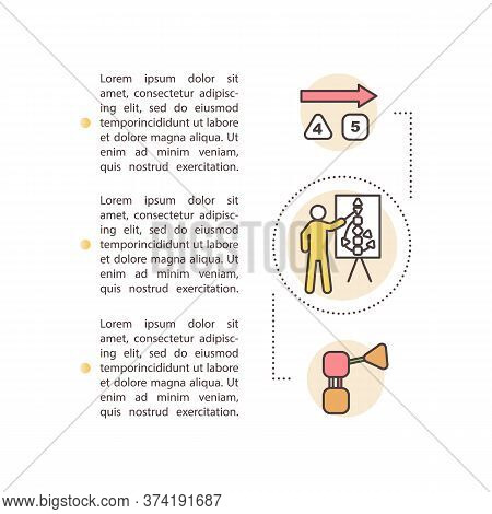 Life Coaching Concept Icon With Text. Spiritual Mentor. Self Understanding. Body Graph. Ppt Page Vec