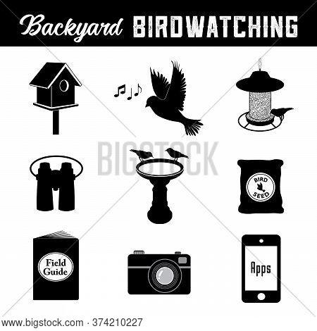 Bird Watching Equipment And Gear For The Backyard Birder, Birdhouse, Song, Bird Feeder, Binoculars,