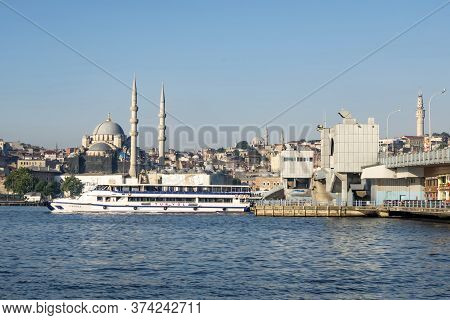 Istanbul,turkey-june 29,2020.dream City Istanbul, Between Asia And European Continents.landscape And