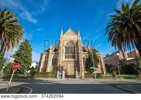 St Mary's Cathedral In Downtown Perth