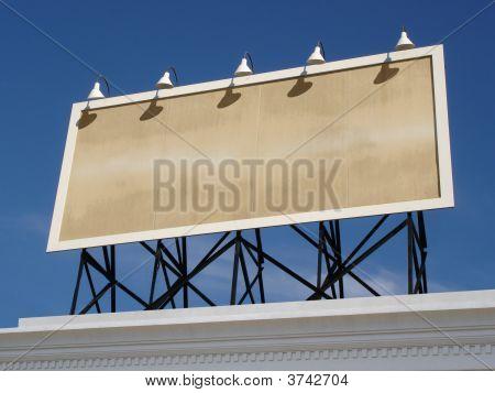 Vintage Billboard Blank