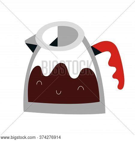 Coffee Maker, Glass Pot Carafe, Coffeemaker For Brewing Espresso Or Americano Drink, Coffee Kettle W